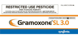 New Gramoxone 3SL Formulation