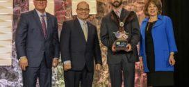Arkansas corn grower takes home ArFB leadership award